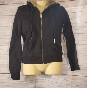 NWT Juicy Couture Reversible Faux Fur Jacket